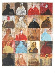 Now 1 by Scott Bergey on Etsy Painting Collage, Mixed Media Painting, Figure Painting, Collage Art, Collage Design, Paintings, Guache, Paperclay, Art Themes