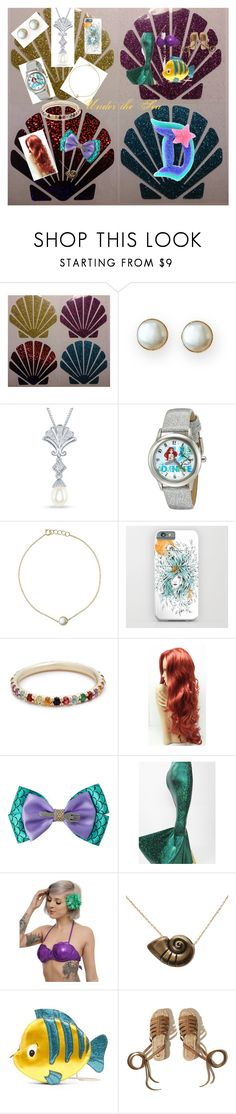 """""""Under the Sea"""" by sneko-chan ❤ liked on Polyvore featuring Mark & Graham, Disney, Ariel Gordon, Danielle Nicole and Hollister Co."""