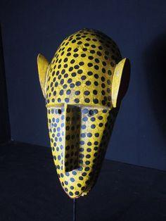 Plateforme de ventes aux enchères en ligne Catawiki : Masque Hyène - BOZO - Mali