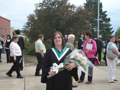 Christy graduated with Honours & on the Deans List SO PROUD