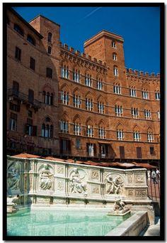 Fonte Gaia, Piazza del Campo  Siena, province of Siena, Tuscany Italy