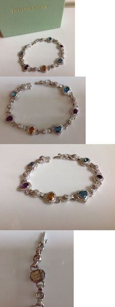 Gemstone 164315: Judith Ripka Sterling 4.50 Cttw Multi Gemstone Bracelet (Average) -> BUY IT NOW ONLY: $245 on eBay!