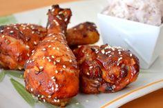 Pilons de poulet à l'Asiatique...une recette que l'on adore !