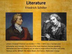 نتيجة بحث الصور عن Schiller Friedrich and beethoven Symphony 9 Friedrich Von Schiller, Don Carlos, Famous Words, Historian, Literature, Literatura