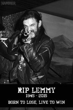 RIP LEMMY                                                                                                                                                                                 Mehr