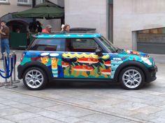 Mini Cooper Car Painting, Mini Me, Exotic Cars, Mini Coopers, Coops, My Love, Cute, Fashion, My Boo