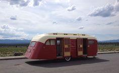 Vintage Campers Trailers, Old Campers, Retro Campers, Vintage Caravans, Camper Trailers, Custom Campers, Retro Caravan, Camper Caravan, Diy Camper