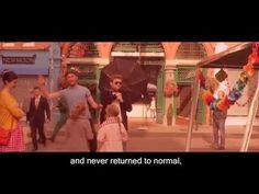 Bonsoir Luna is an Irish language short musical romance between street artist Duke and Luna, a blind barista, who runs the George's Street Arcade coffee shop. Irish Language, Irish People, Street Artists, Barista, Short Film, Teaser, Blind, Duke, Arcade