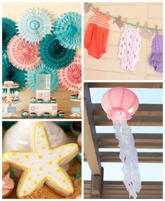 Kara's Party Ideas Under The Sea Marine Life Baby Shower…