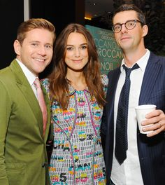 Keira Knightley, Allen Leech and Matthew Goode attend the Variety Studio presented by Moroccanoil at Holt Renfrew during the 2014 Toronto International Film Festival on September 8, 2014 in Toronto, Canada