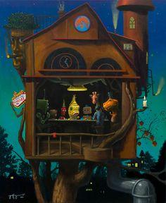 Home Game Giclee. Edición limitada de 100. Numeradas y firmadas por el artista.