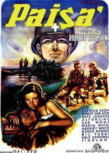 """Paisa (1946) Roberto Rossellini's """"Neorealist Trilogy,"""" which also includes Roma, Città Aperta (Rome, Open City) and Germania Anno Zero (Germany Year Zero)."""