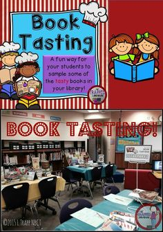 A Book Tasting event