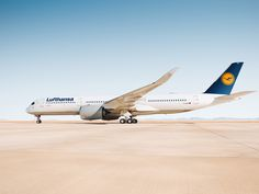 Lufthansa's first Airbus A350-900 to fly from Munich to Delhi