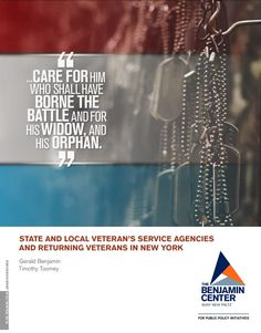 Benjamin Centers 19th discussion brief examines veterans services at state and local level