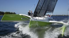 Dragonfly 25 Sport trimaran Yacht Boat, Catamaran, Sailboats, Beautiful World, Sailing Ships, Innovation, Cruise, Racing, Sport