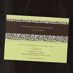 Wild Celebration Shimmer Invitation - Margarita - Sweet Sixteen Invitations - Sweet 16 Invites - Sweet Sixteen Ideas