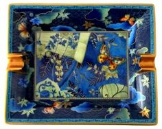 Hermès Chinoiserie Butterflies Ashtray | Glimpse of the Golden Gate | One Kings Lane