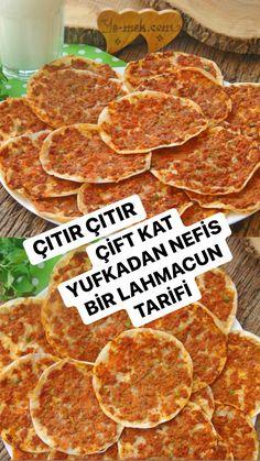 Turkish Kitchen, Bread And Pastries, Ham, Food And Drink, Pizza, Baking, Recipes, Hams, Bakken