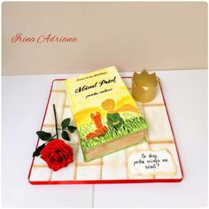 The Little Prince Book Cake