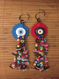 nazarlık, kanaviçe, felt, feltro, amulet, crossstitch, hand made, design, turkish eye