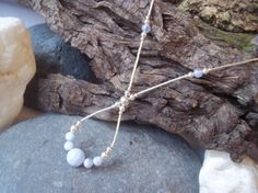 This is a very beautiful necklace, It is extremely flattering, elongates the neck and sits perfectly on the neckline. This piece has six and one Handmade Jewellery, Handmade Gifts, Jewelry Ideas, Unique Jewelry, Blue Lace Agate, Drop Necklace, Beautiful Necklaces, Sterling Silver Jewelry, Dawn