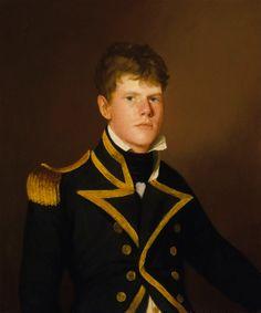 Peter Rainier 1806. Serving under Pellew. Made Captain at 21.