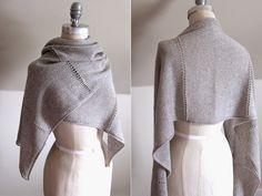 MES FAVORIS TRICOT-CROCHET: Modèle gratuit : Une étole au tricot                                                                                                                                                                                 Plus