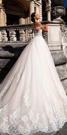 24 Amazing Milla Nova Wedding Dresses ❤ milla nova wedding dresses strapless off the shoulder lace ball gown ❤ See more: http://www.weddingforward.com/milla-nova-wedding-dresses/ #weddingforward #wedding #bride