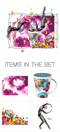 """""""Tempest in a Teacup"""" by thresholdpaperart ❤ liked on Polyvore featuring art, artse and ThresholdPaperArt"""
