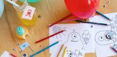 Merike en Anne van de leuke blog Hiep en Hoera hebben een interview gehouden over Style my party, kinderfeestjes, traktaties en monsters.