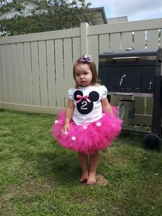 Minnie mouse birthday outfit!