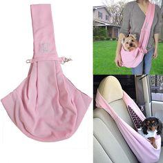 High Quality Reversible Small Pet Dog Cat Sling Carrier Bag Travel Tote Soft Comfortable Double-sided Pouch Shoulder Bag