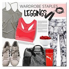 """Wardrobe Staples: Leggings"" by barbarela11 on Polyvore featuring adidas, Zadig & Voltaire, Varley, Vera Bradley, NIKE, Casall and The Cellar"