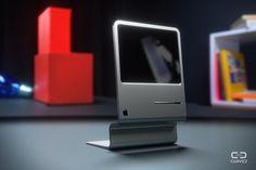 初代Mac「Lisa」が31年間の年月を経て現代風にリメイクされた!Curvedが初代MacをMacBook Air並に薄型化したコンセプトイメージを公開していたので、紹介する!