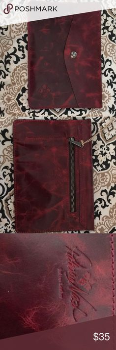 Patricia Nash pouch Beautiful leather with suede lining. Patricia Nash Accessories