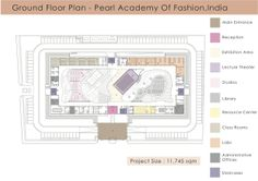 Floor Plan-Pearl academy of fashion