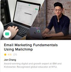 Learn about email marketing & how to use Mailchimp. Join Fiverr's email marketing course & training and boost your email marketing & Mailchimp skills Email Providers, Email Campaign, Email Marketing, How To Apply, Ads, In This Moment, Teaching, Engagement, Engagements