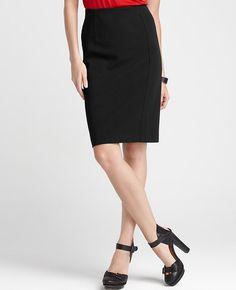 Tall Ideal Ponte Pencil Skirt