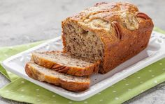 Here is how easy it is to make your own healthy, banana bread that's jam-packed with protein with along with a moist core. A must try recipe from Healthchef