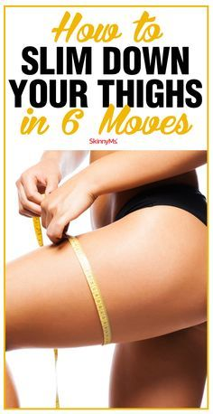 Slim and tone your thighs with 6 effective moves, no matter how busy you are. Get started today!