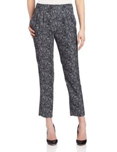 McGinn Women's Reni Printed Pant, Charcoal, 6 McGinn. $195.00