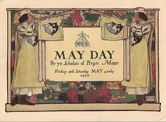 1932 Bryn Mawr College May Day Program in Original Mailer   eBay