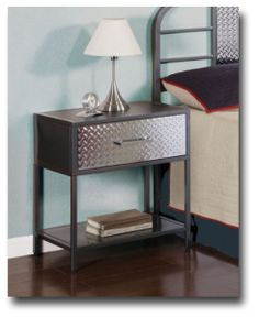 powell monster bedroom nightstand