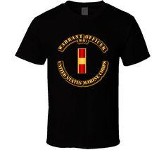 USMC - Warrant Officer - WO T Shirt