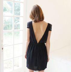 Robe noire  #black #dress