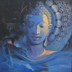 """A good head and a good heart are always a formidable combination. Buddha Zen, Gautama Buddha, Buddha Buddhism, Buddhist Art, Budha Art, Feng Shui, Buddha Decor, Chakra, Buddha Painting"