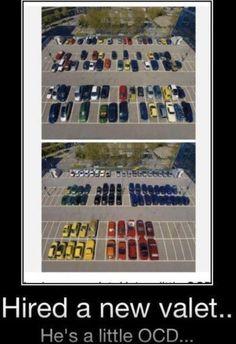 OCD valet