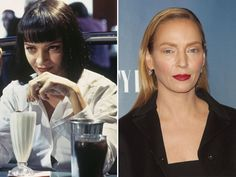 Uma Thurman come