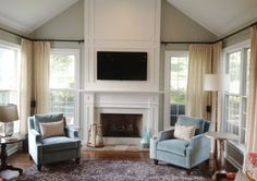 Artisan Carpentry uses S4SSE trim boards with Greek Revival & Craftsman Moldings for the look. See more mantel ideas on the WindsorONE mantels board.